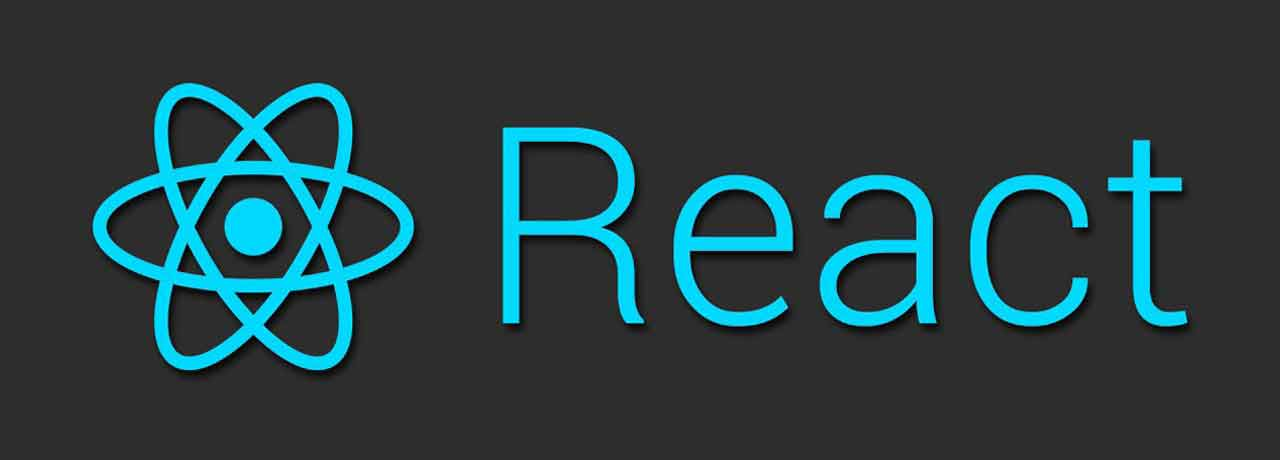 React logo - JavaScript library for building user interfaces