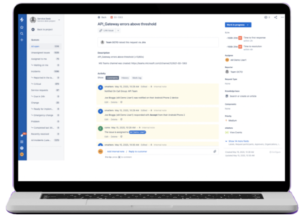 xMatters appends the Jira issue with comments per the resolution process