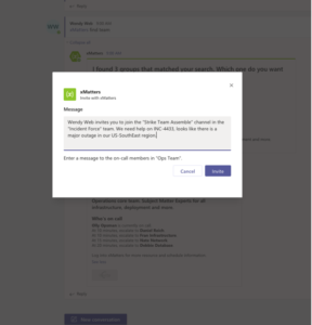 Add context to your messages in Microsoft Teams