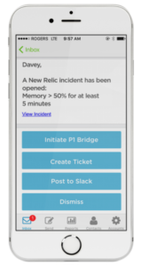 xMatters mobile notifications