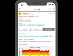 Splunk On-Call's mobile app
