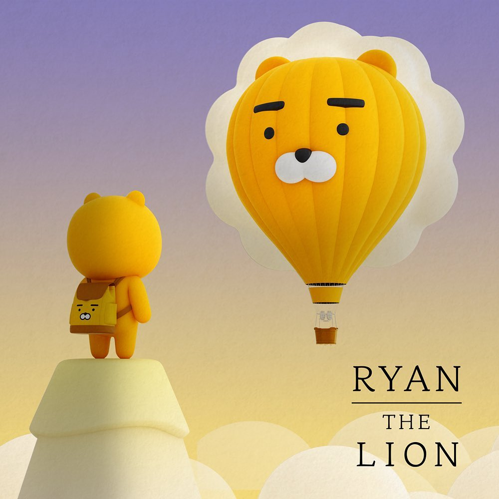 KAKAO ♥ RYAN THE LION~萊恩的內心世界採訪 yes or no!