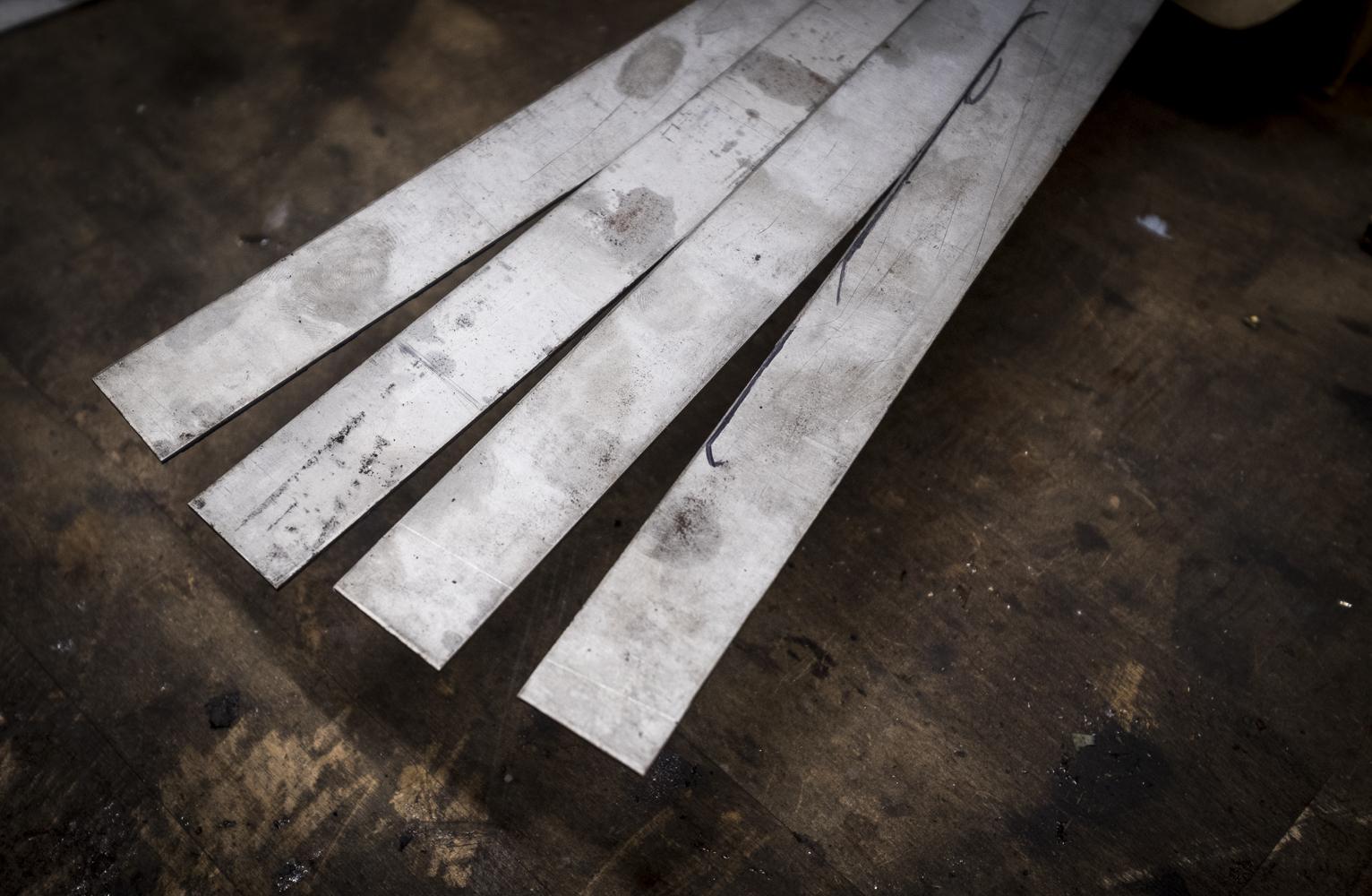 Titan Blech / Platten federhart und weich