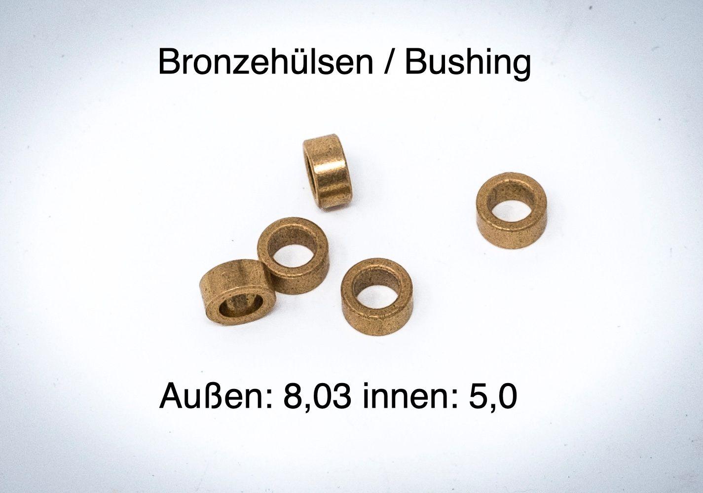 Klappmesserteile - Bushing, Washer, Detent, Schrauben..