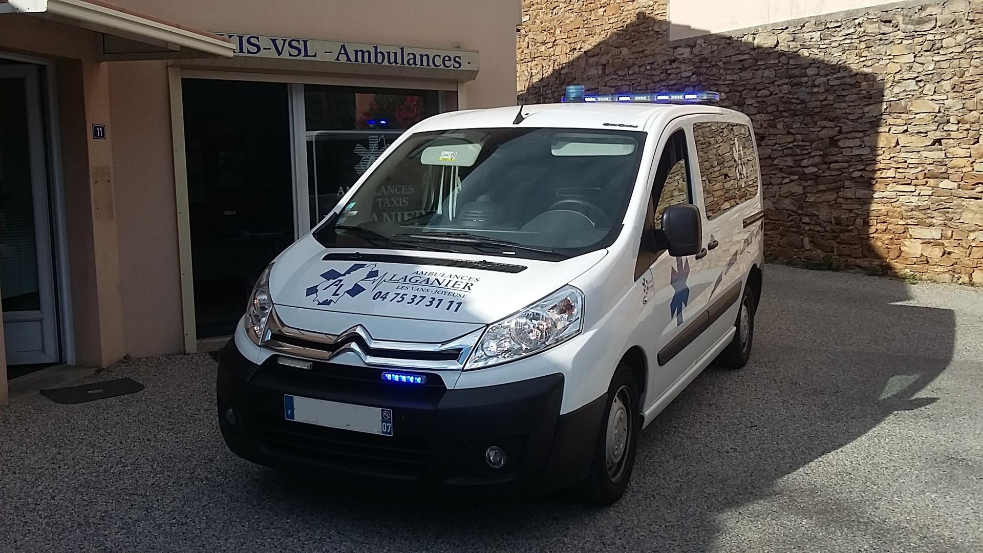 Ambulances Taxis Laganier pompes funèbres, inhumation et crémation (fournitures)