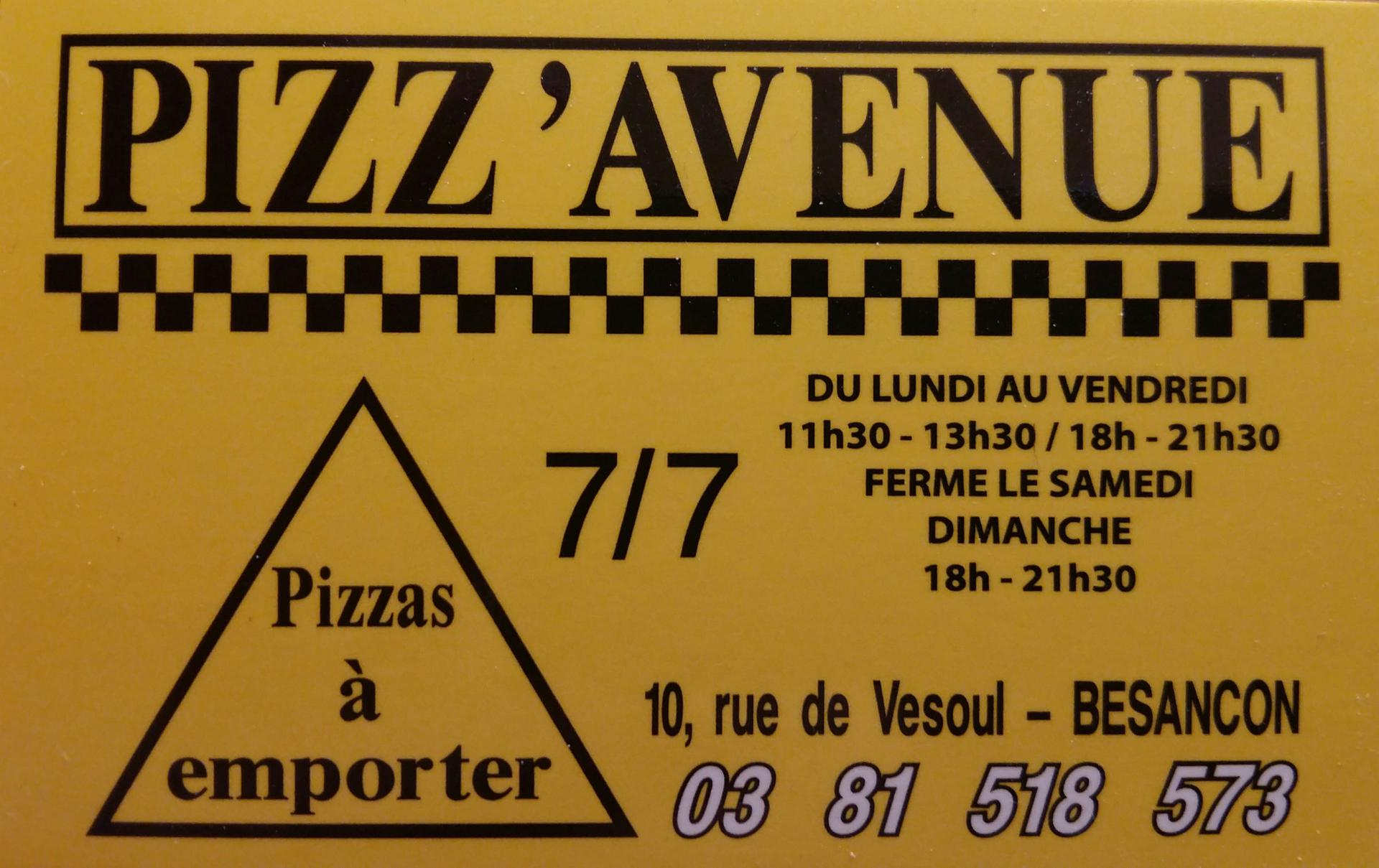 Pizz'Avenue pizzeria
