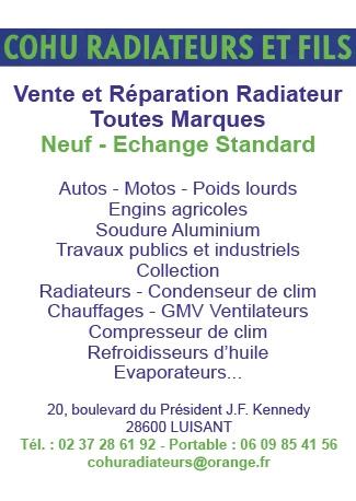 Cohu Radiateurs Et Fils radiateur pour véhicule (vente, pose, réparation)