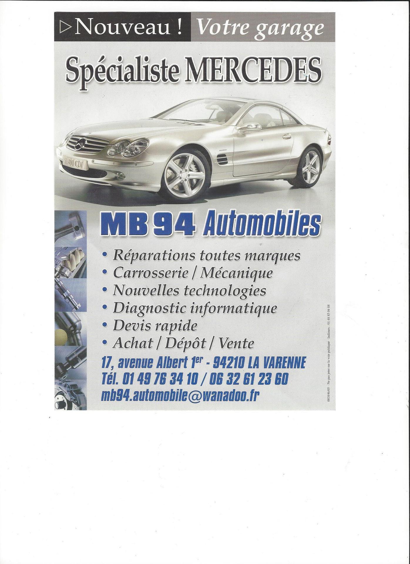 MB 94 Automobiles concessionnaire automobile