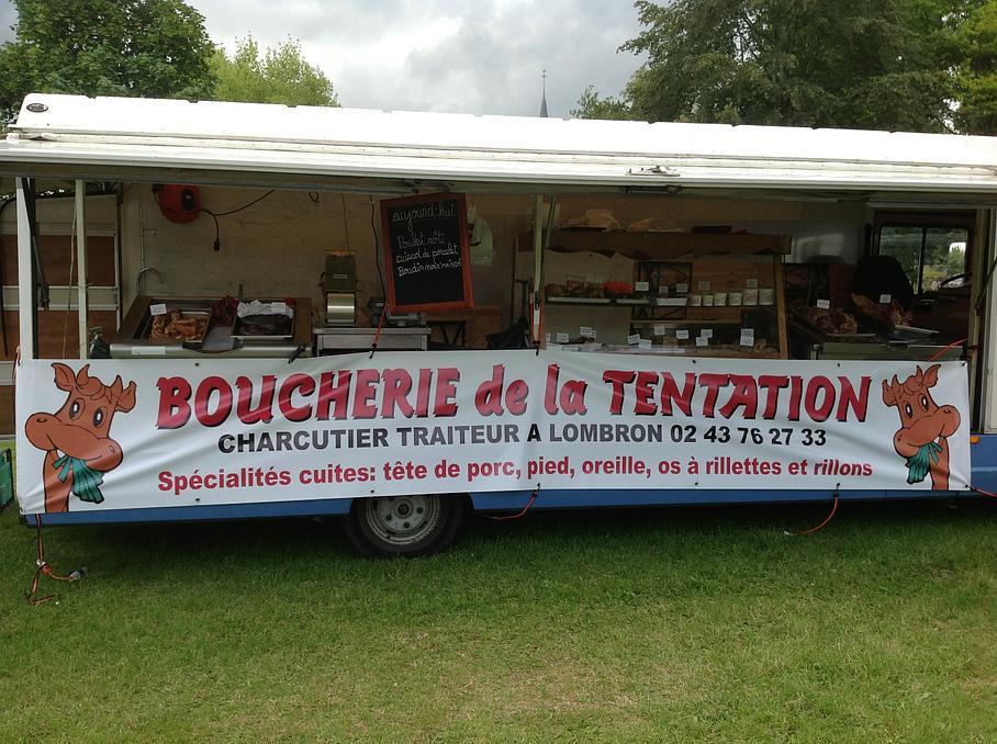 Boucherie de la Tentation boucherie et charcuterie (détail)