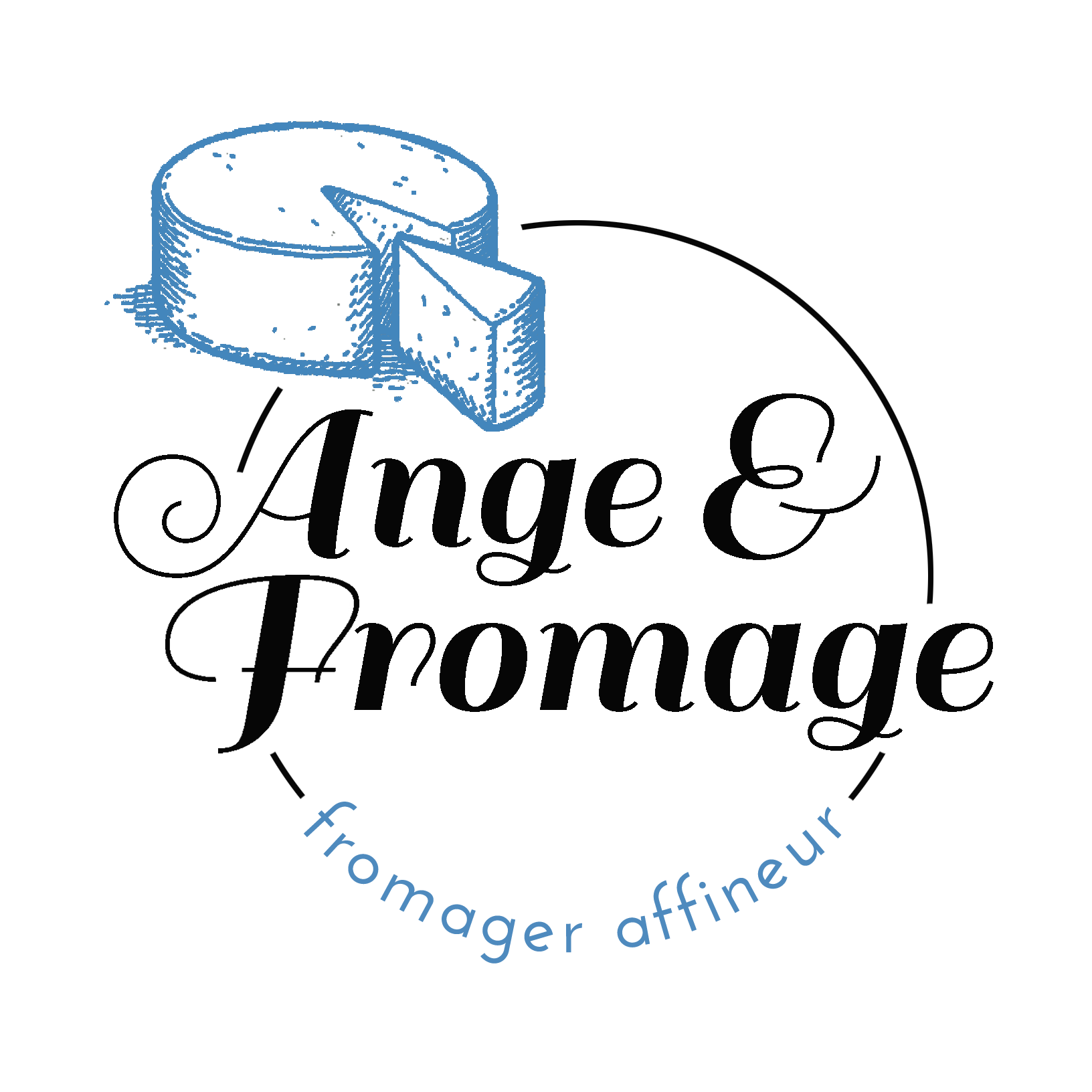 Ange et Fromage fromagerie (détail)