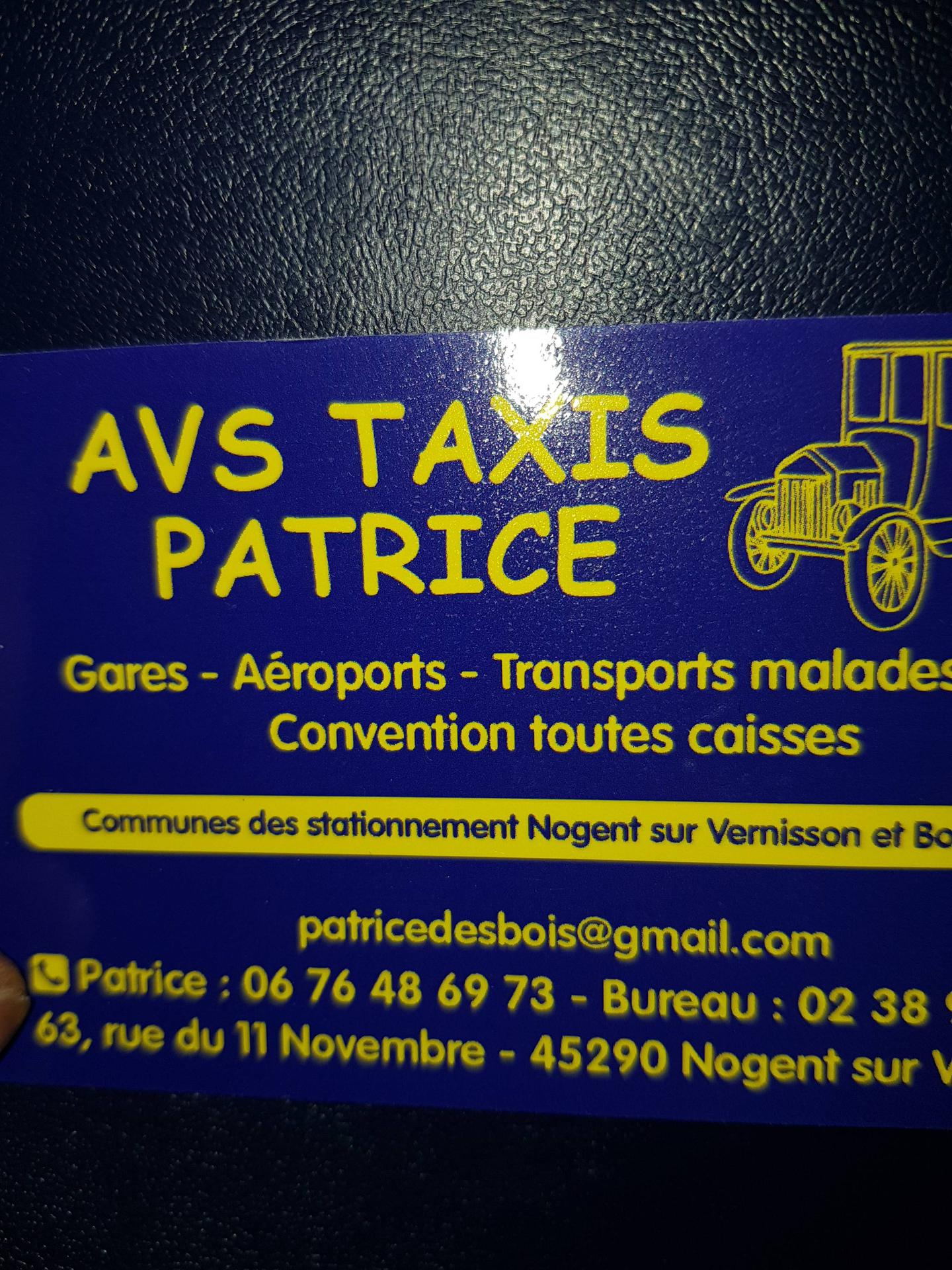 A.V.S Taxis Patrice taxi