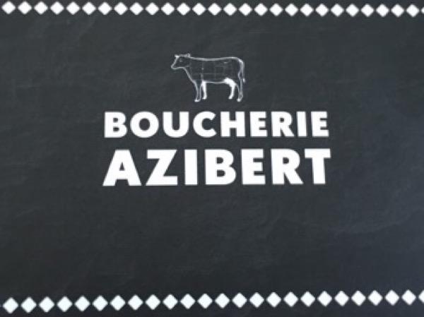 Boucherie Azibert boucherie et charcuterie (détail)