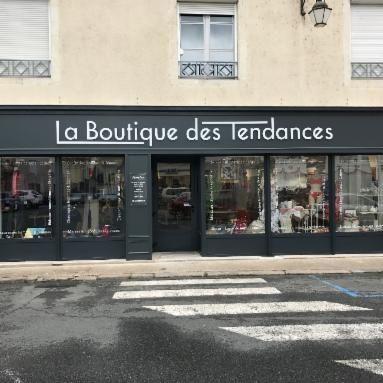 Boutique Des Tendances laine (détail)