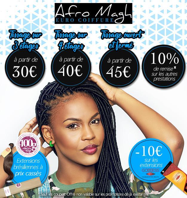 Afro Magh Euro JMLN perruque et postiche