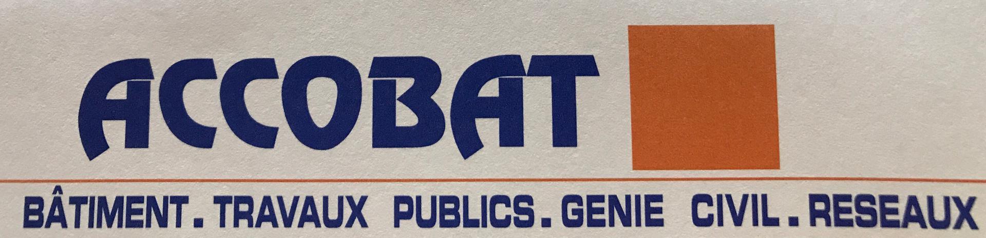 Accobat SARL entreprise de travaux publics