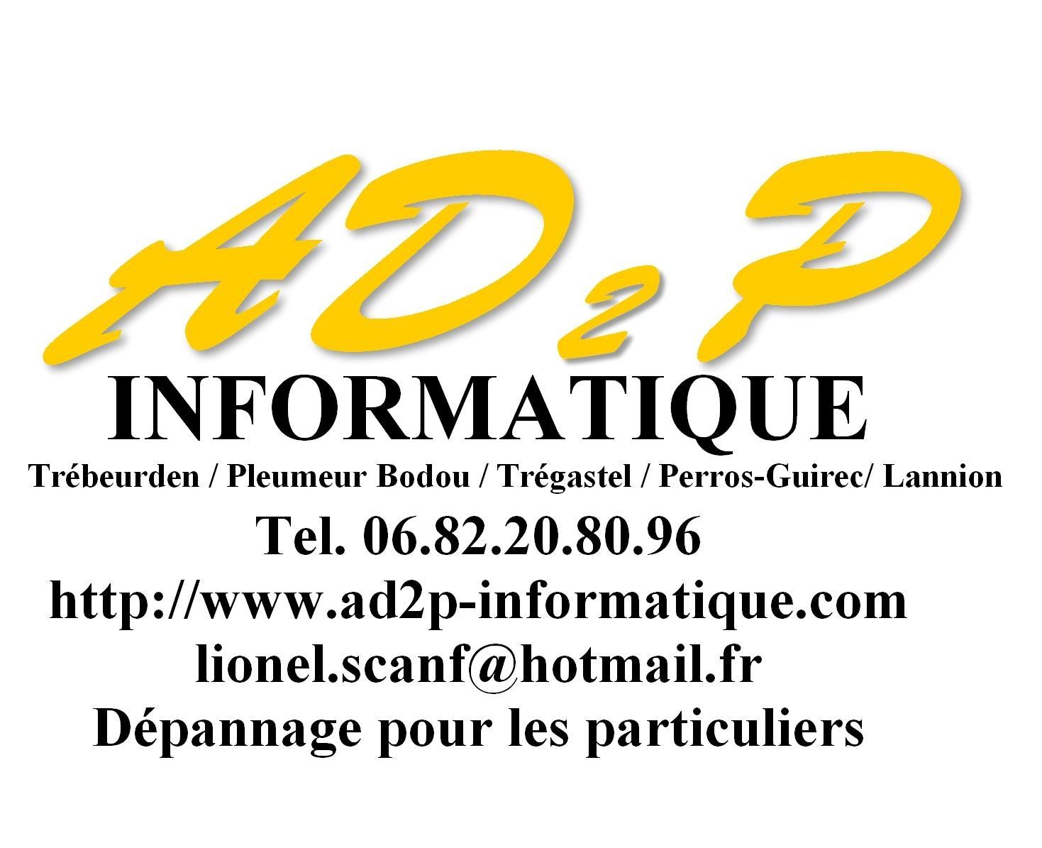 Ad2p Informatique vente, maintenance de micro-informatique