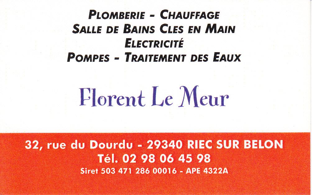 M. Le Meur Florent plombier