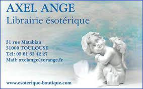 Axel Ange librairie