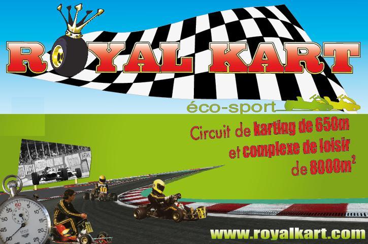 Royal Kart sports mécaniques (club, circuit, terrain)