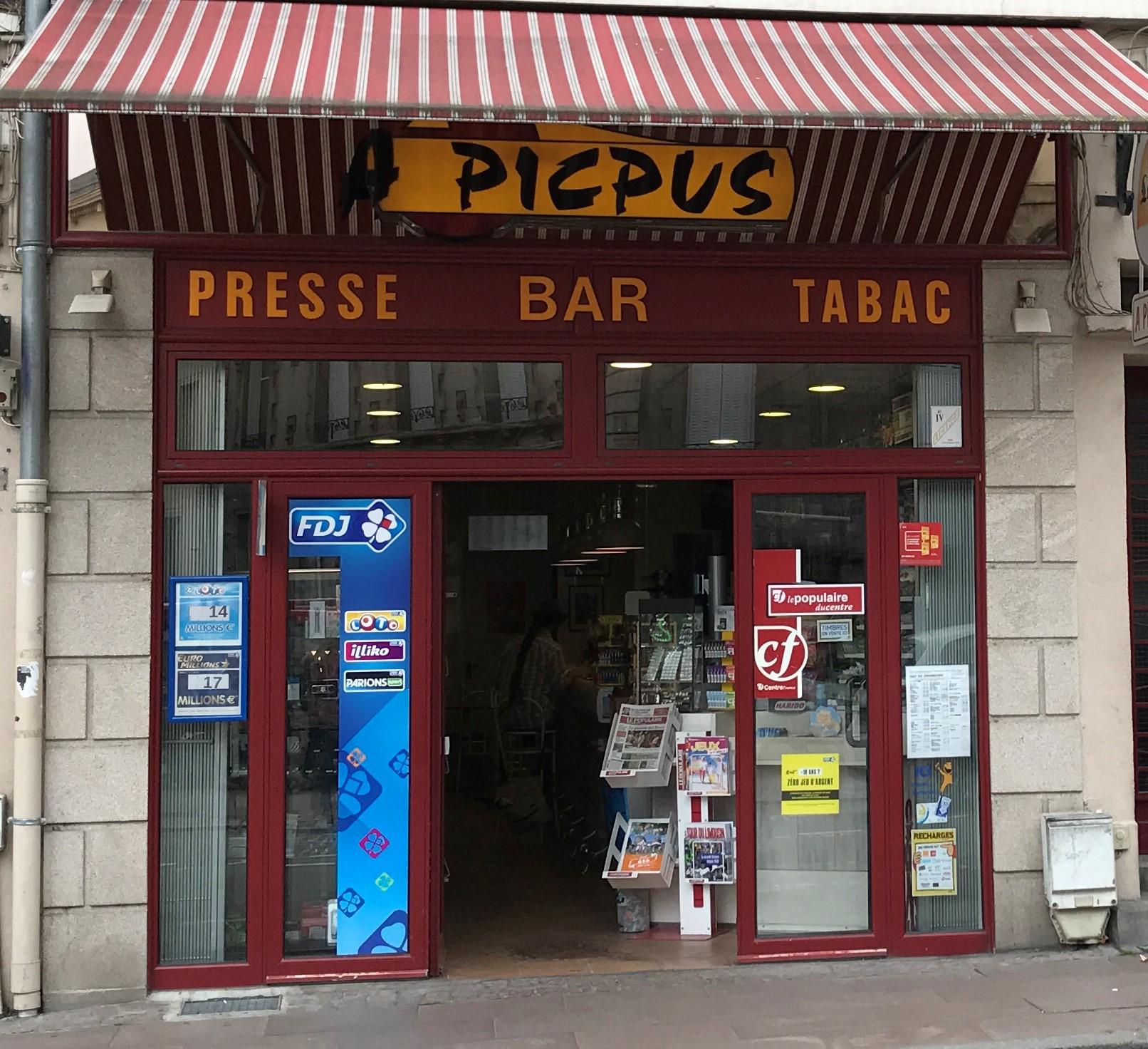 A PICPUS bureau de tabac