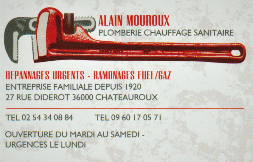 Mouroux Alain plombier