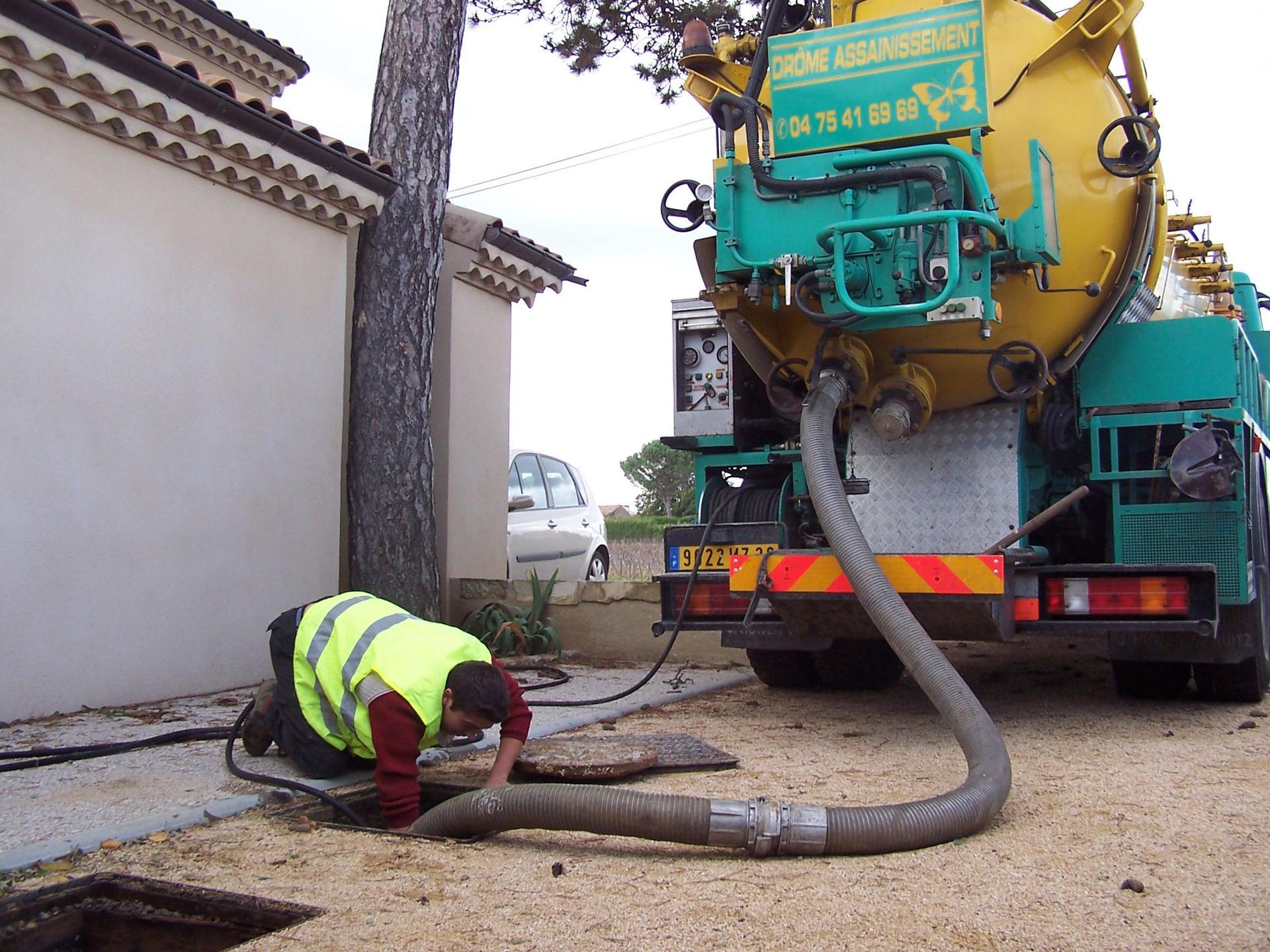 Drôme Assainissement SARL entreprise de travaux publics