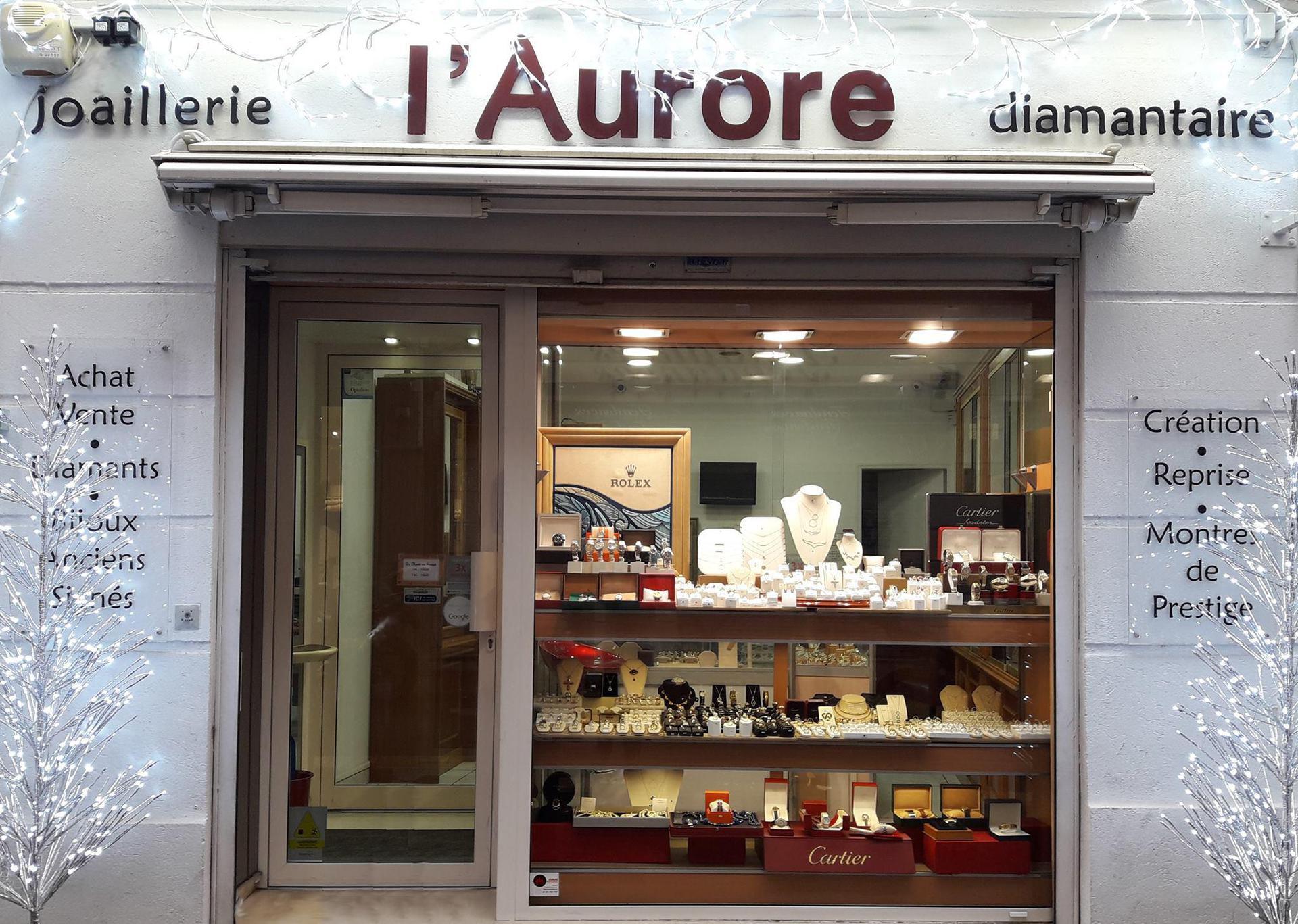 Bijouterie L'Aurore bijouterie et joaillerie (détail)