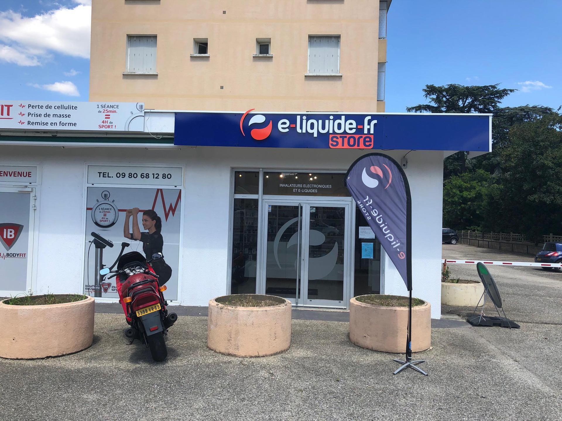 E-liquide-fr Store Saint Bonnet De Mûre SARL Cigarettes électroniques