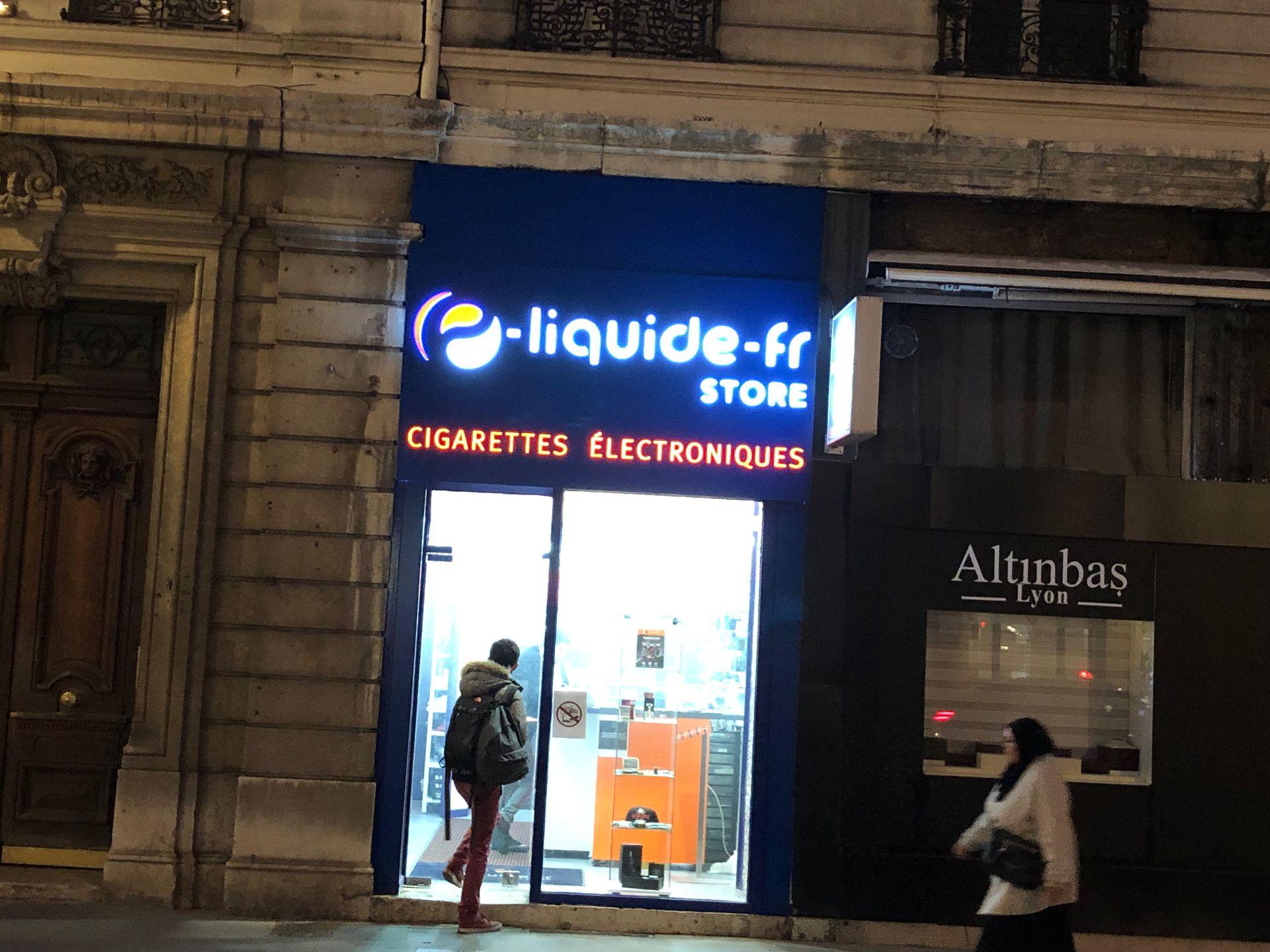 E-Liquide-FR Store Lyon Cigarettes électroniques