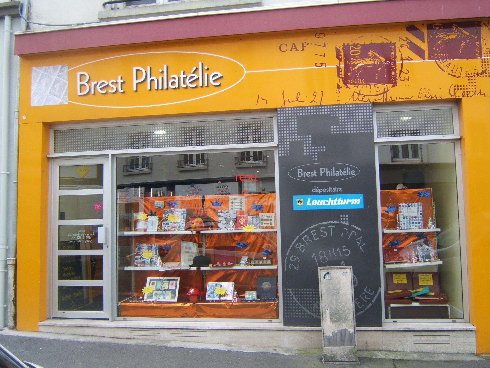 Brest Philatélie achat et vente d'antiquité