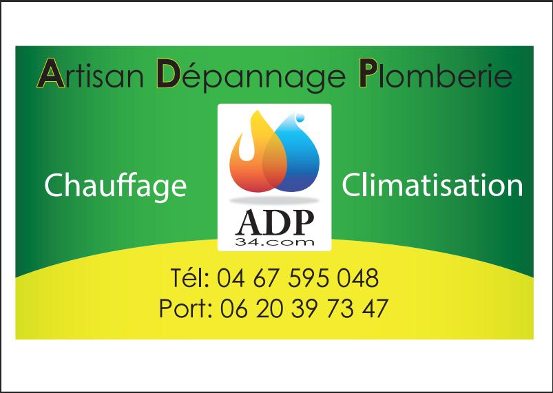 ADP 34.COM Artisan Depannage Plomberie chauffagiste