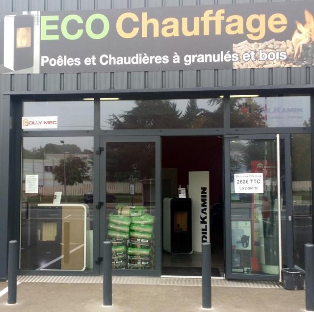 Eco Chauffage Lorraine poêles à bois