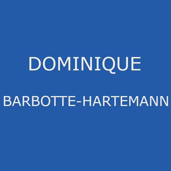Barbotte Hartemann Dominique psychologue