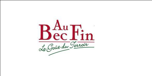 Au Bec Fin boucherie et charcuterie (détail)