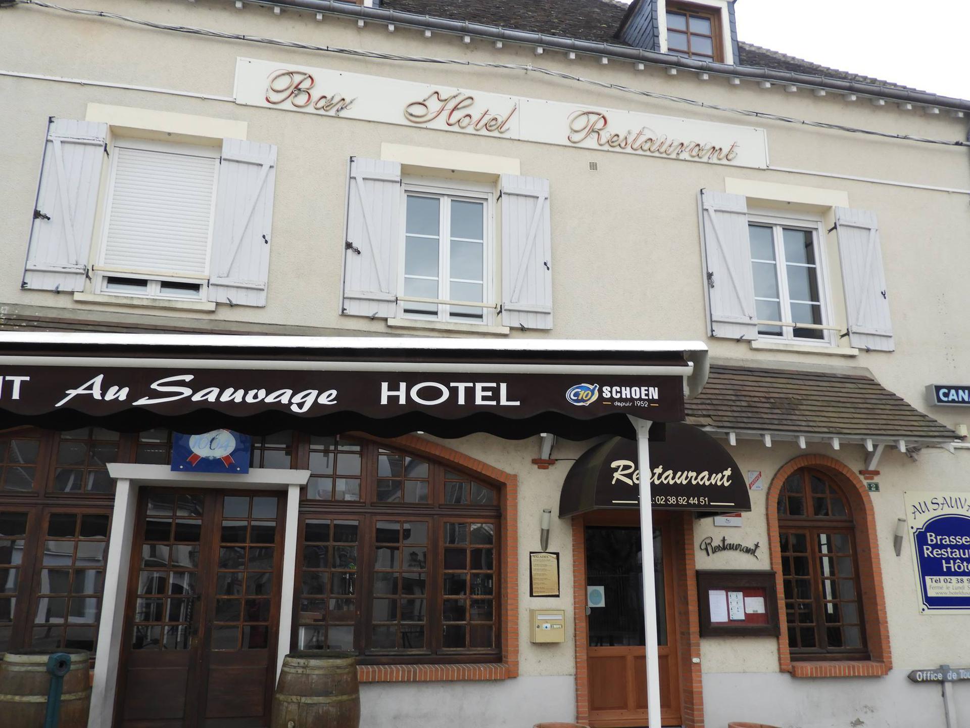 Au Sauvage restaurant