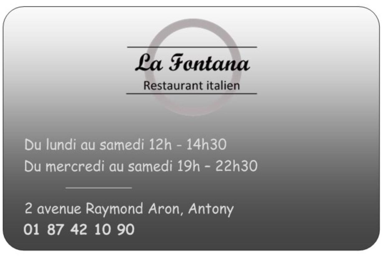 La Fontana restaurant