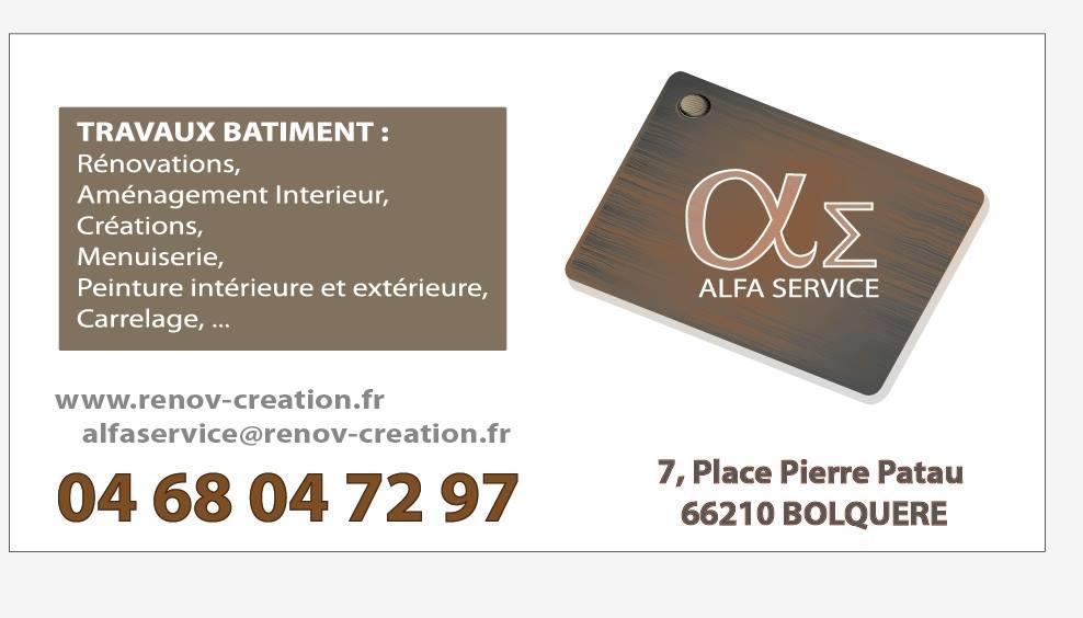 Alfa Service rénovation immobilière