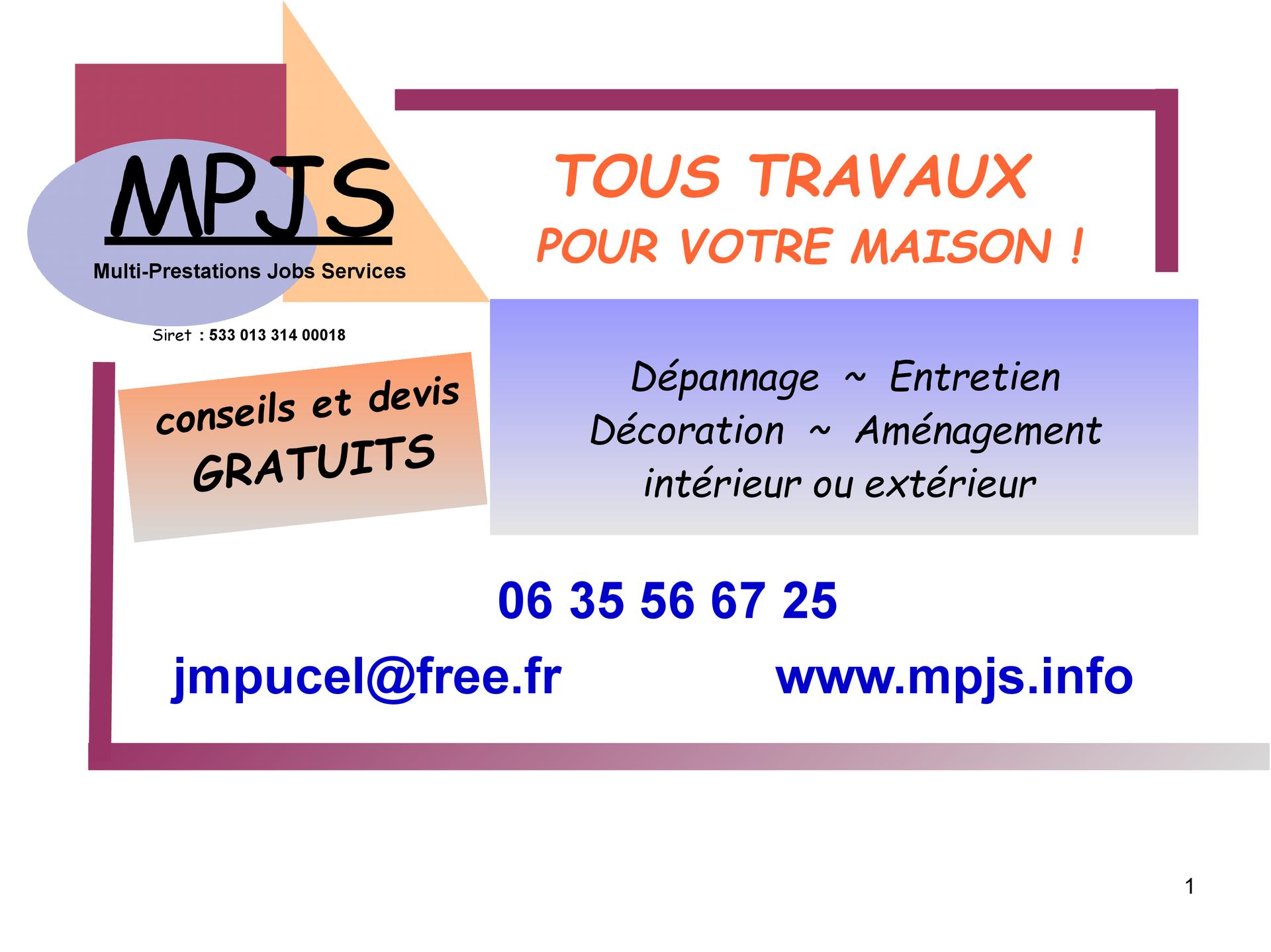 MPJS bricolage, outillage (détail)