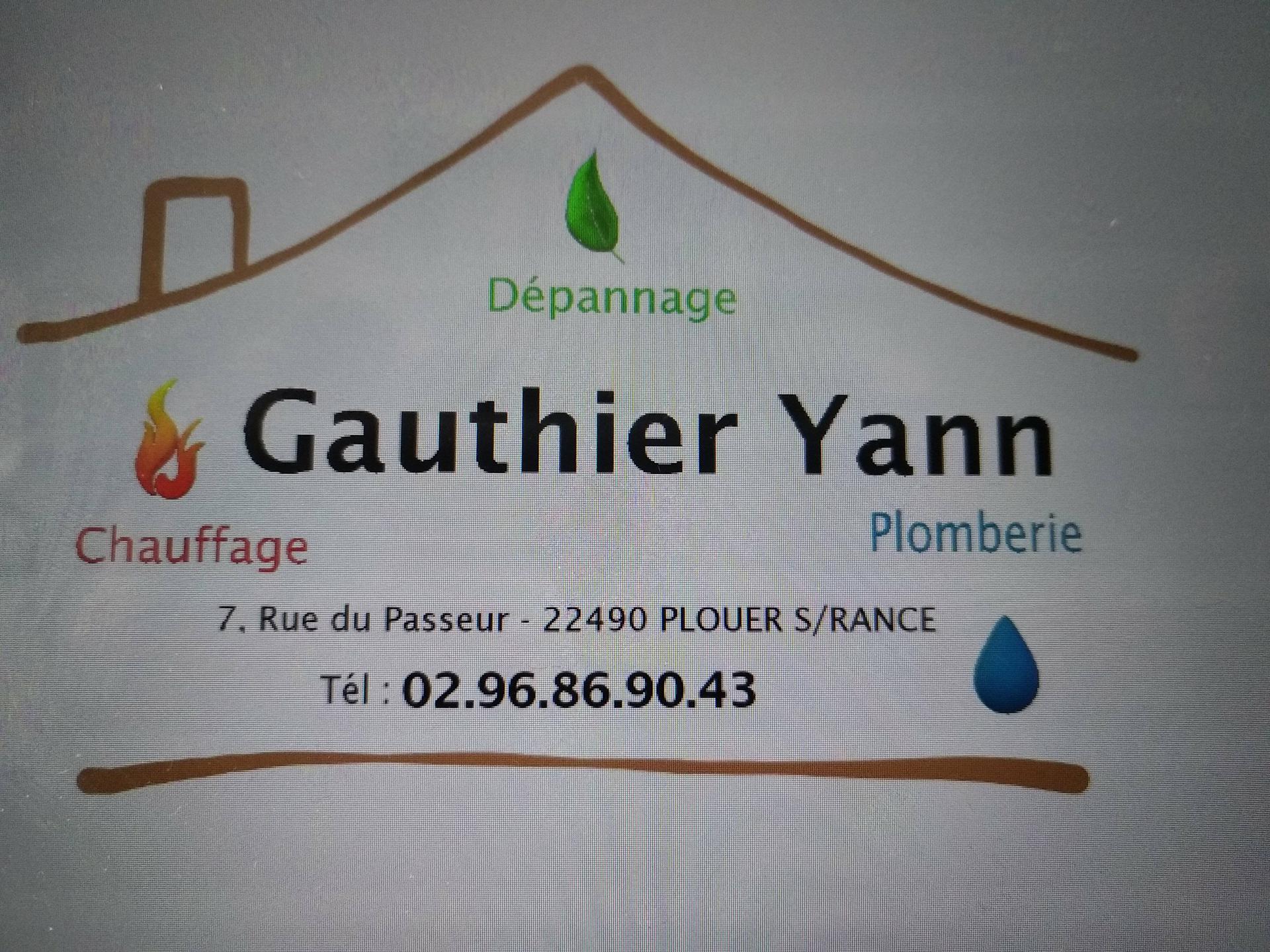 Gauthier Yann plombier