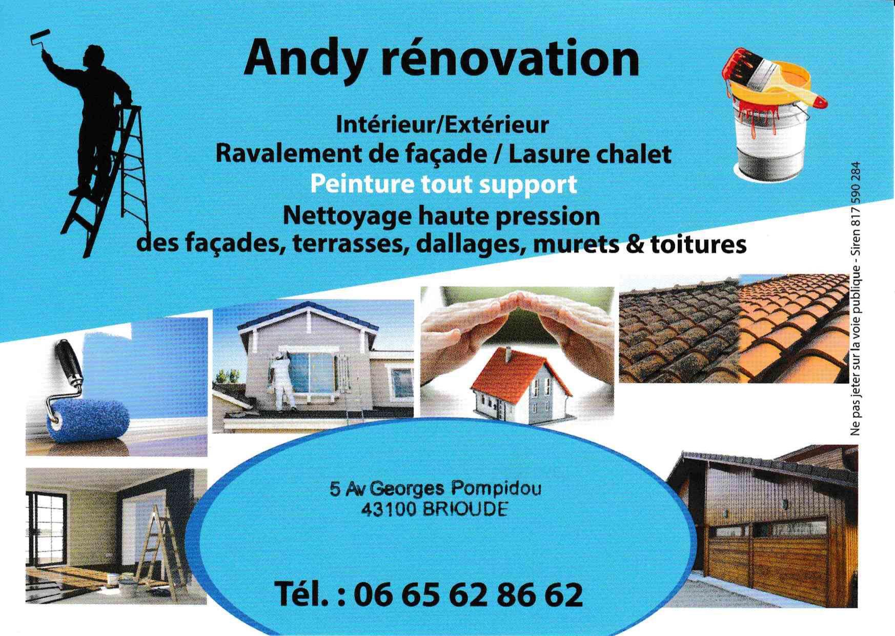 Andy Rénovation rénovation immobilière