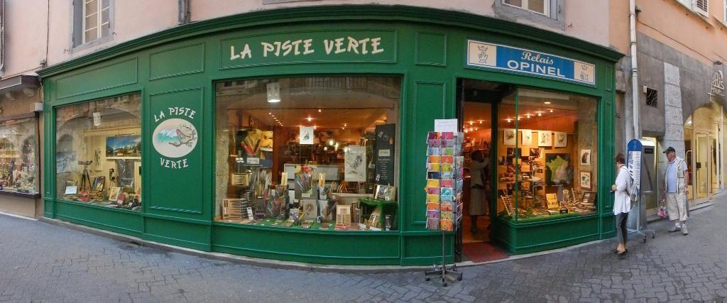 Piste Verte La librairie