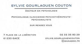Gourlaouen Couton Sylvie psychologue