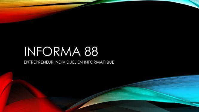 Informa 88 dépannage informatique
