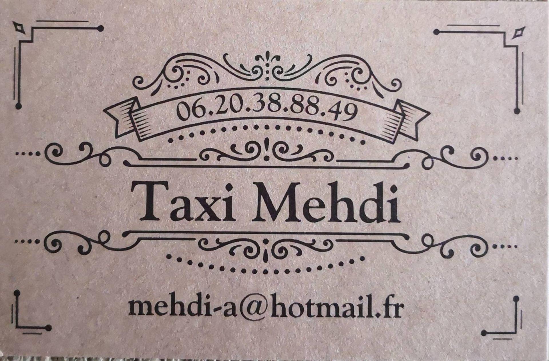 Alaoui Ismaili Mahdi taxi