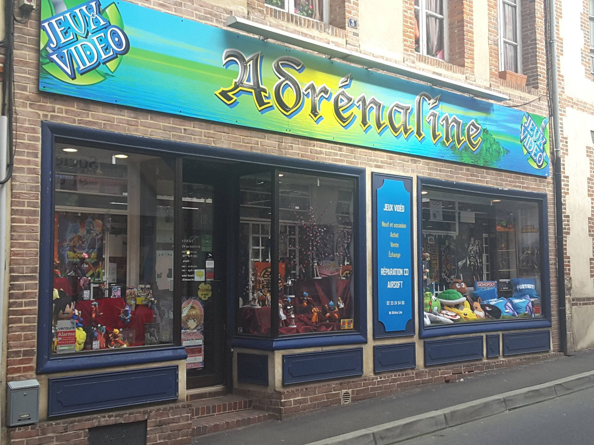 Adrenaline jeux vidéo (vente, location)