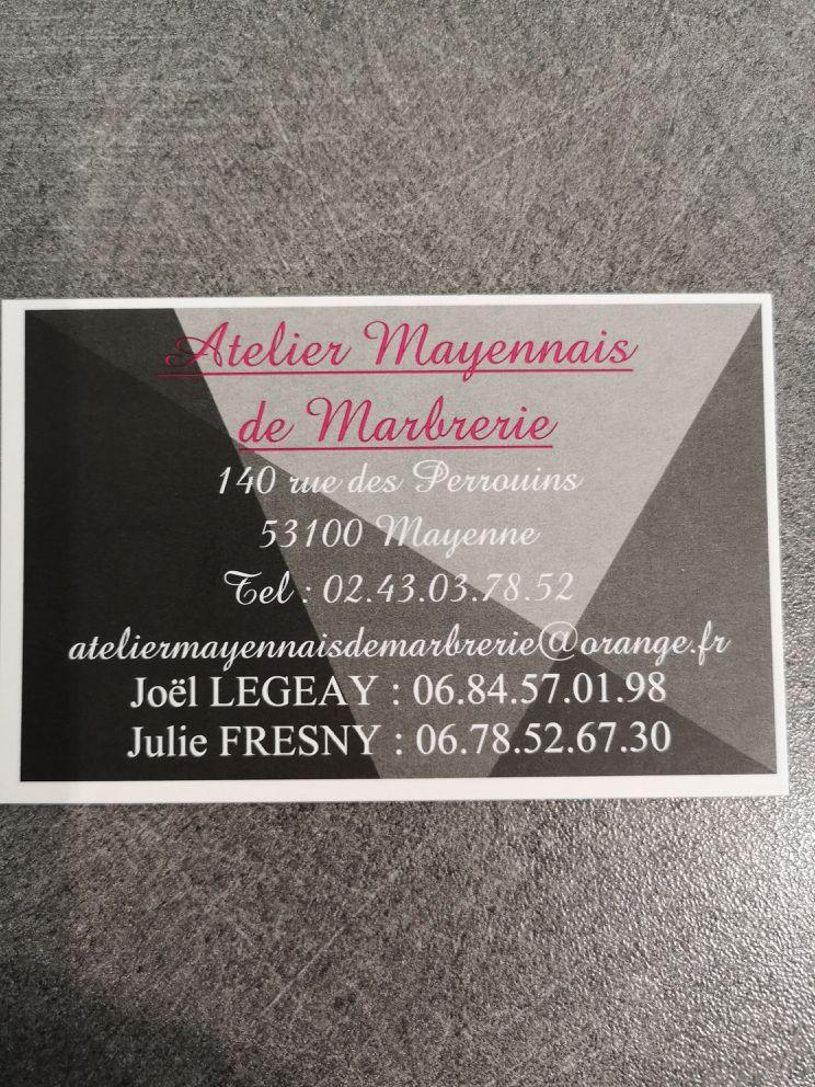 Atelier Mayennais De Marbrerie marbrier funéraire