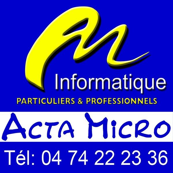 ACTA MICRO Informatique, télécommunications