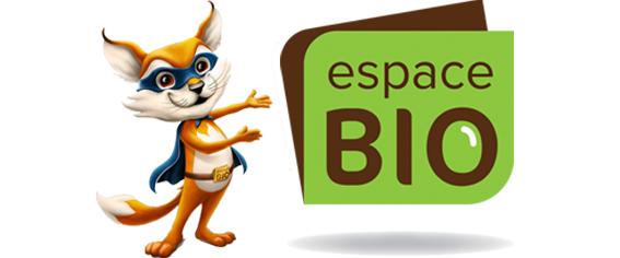 Espace Bio vente de produits biologiques (détail)