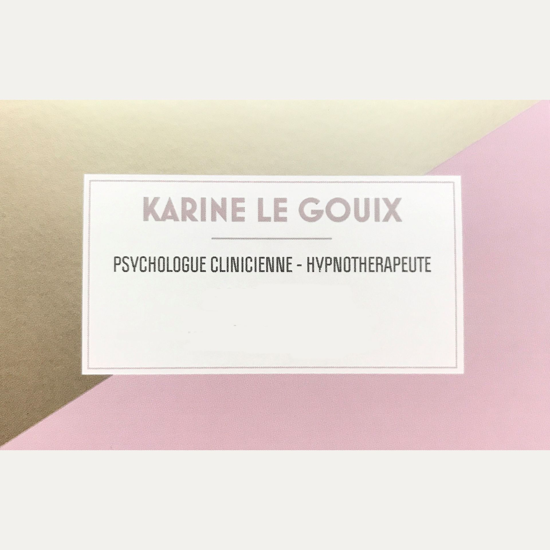 Karine Le Gouix psychologue