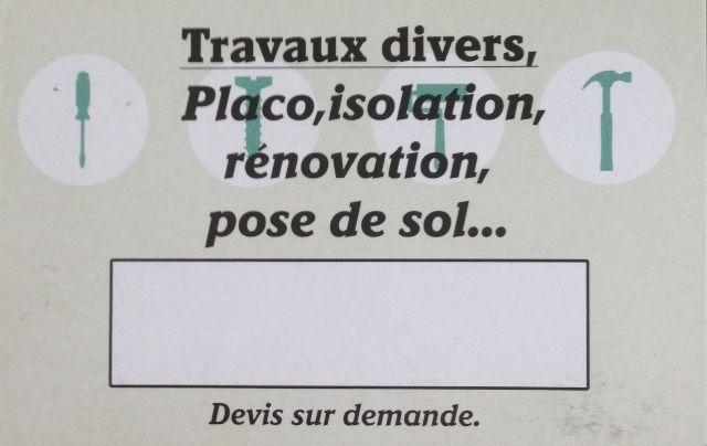 BRAUCOURT Thibault - Placo Peinture rénovation immobilière